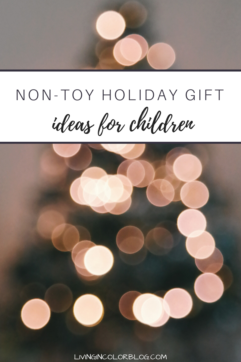 Non-Toy Gift Ideas for Children