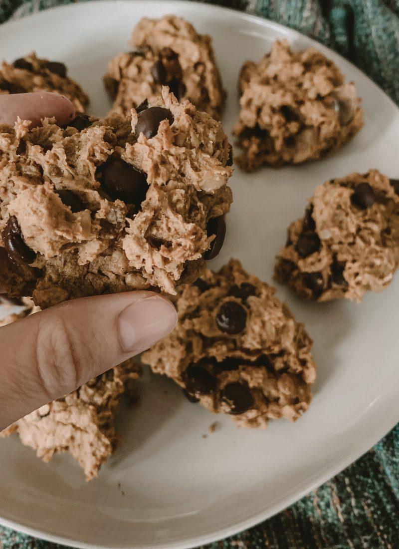 Vegan Pumpkin Chocolate Chip Breakfast Cookies Recipe