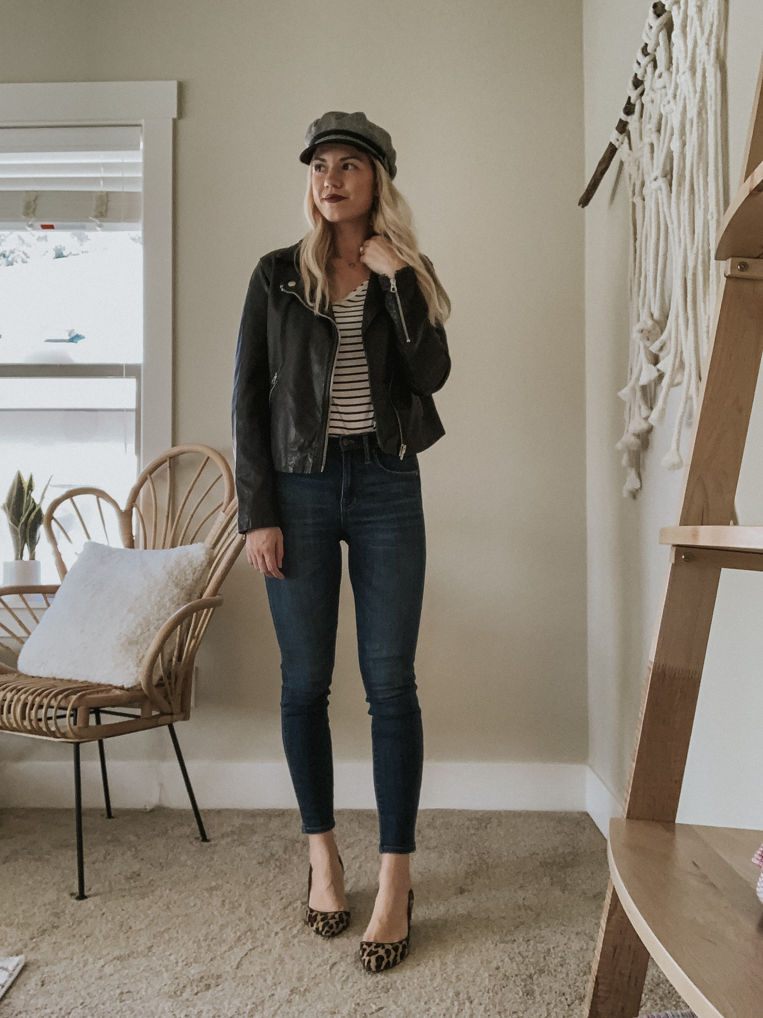 Sustainable Style Sessions | Dark Wash Skinny Jeans Four Ways