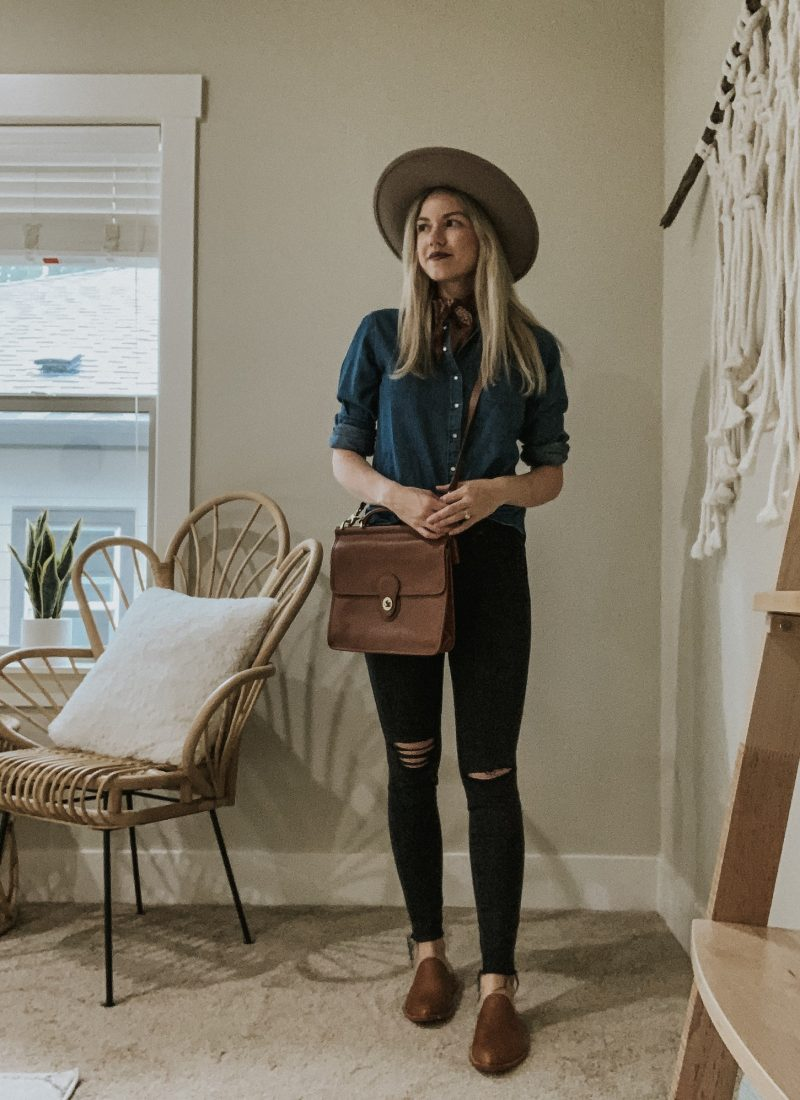 Sustainable Style Sessions | Chambray Shirt Four Ways
