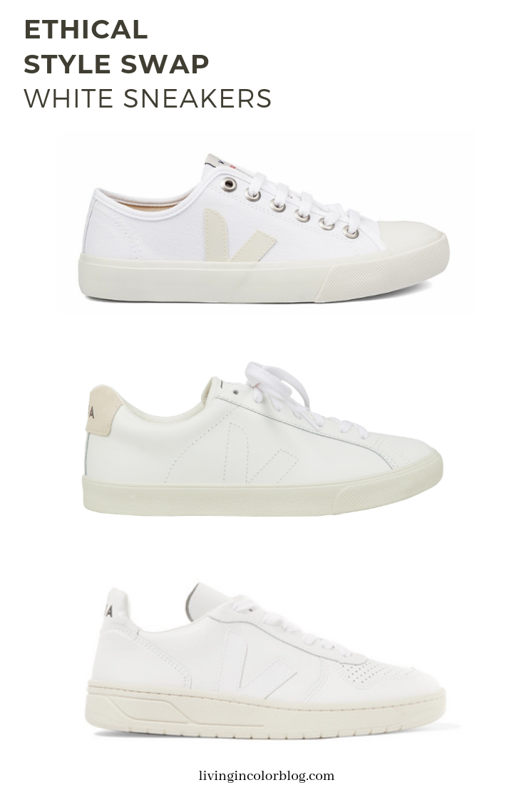 Ethical Style Swap | White Sneakers