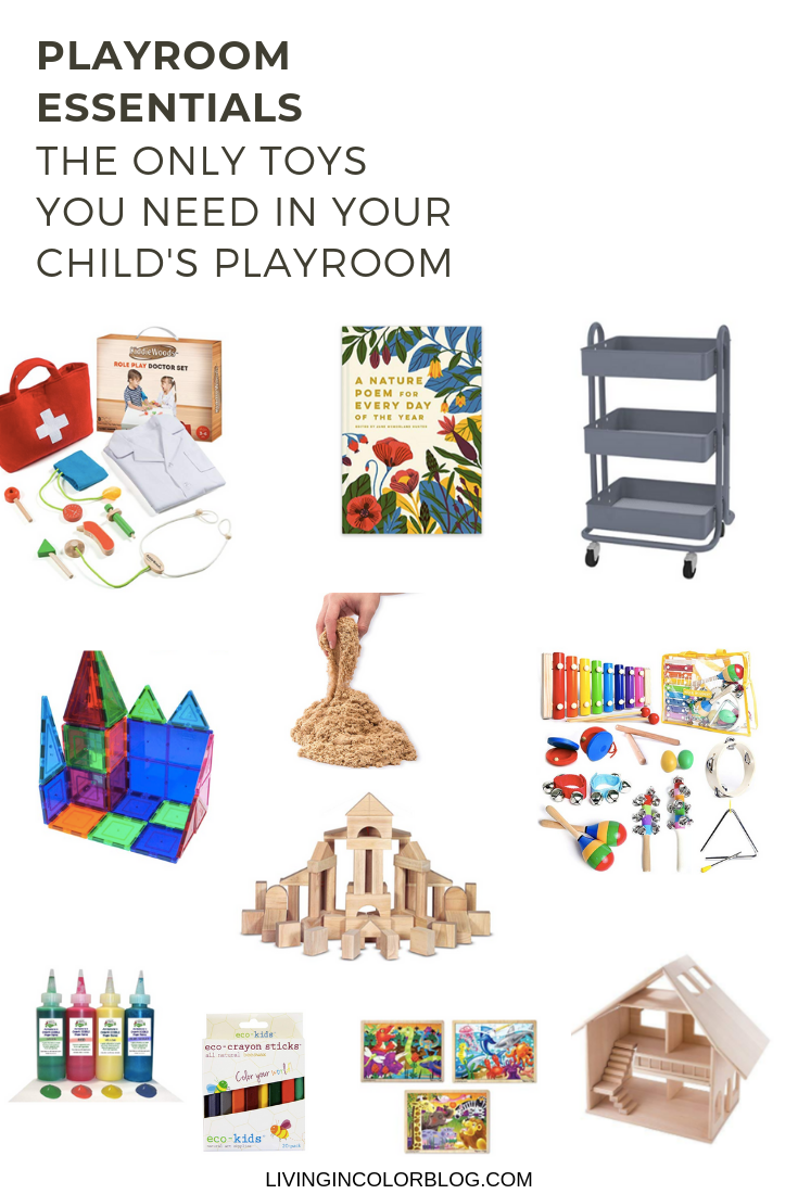 Playroom Essentials: The Only Toys Your Kids Need