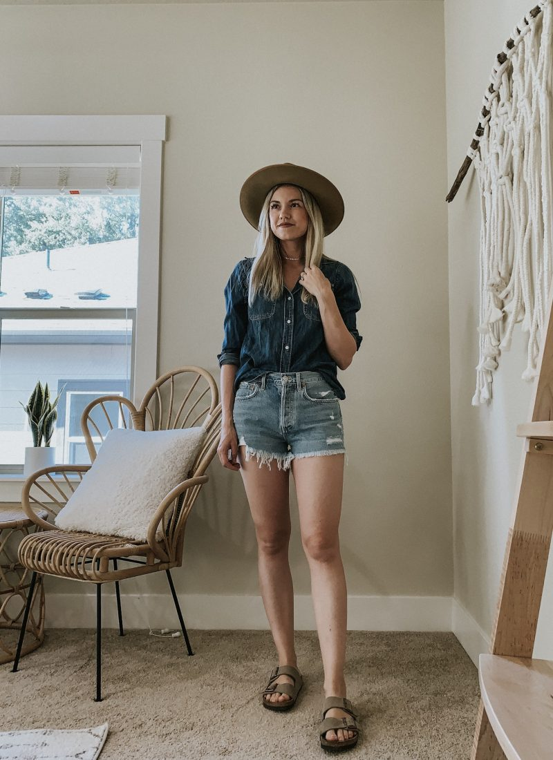 Sustainable Style Sessions | How to Style Denim Shorts Four Ways