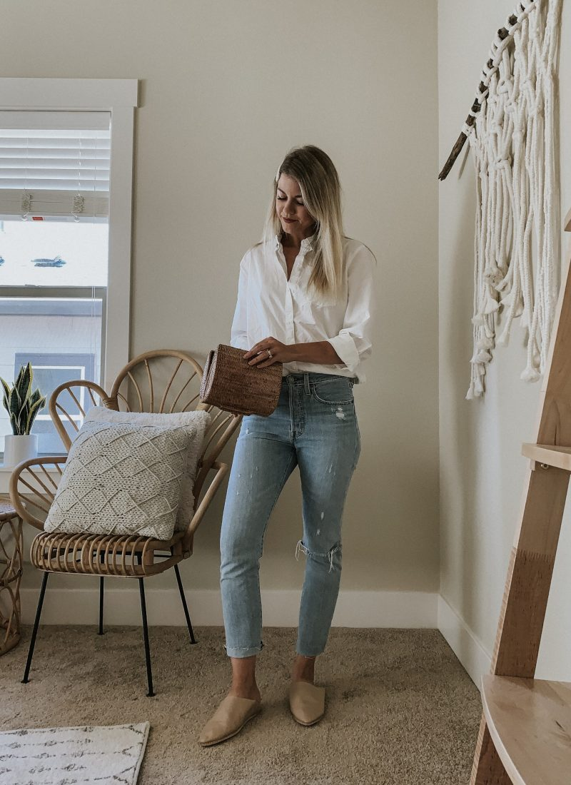Sustainable Style Sessions | White Button-Down Shirt Four Ways