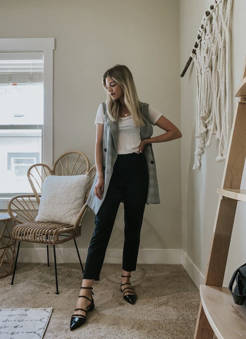 Sustainable Style Sessions | Black Dress Pants Three Ways