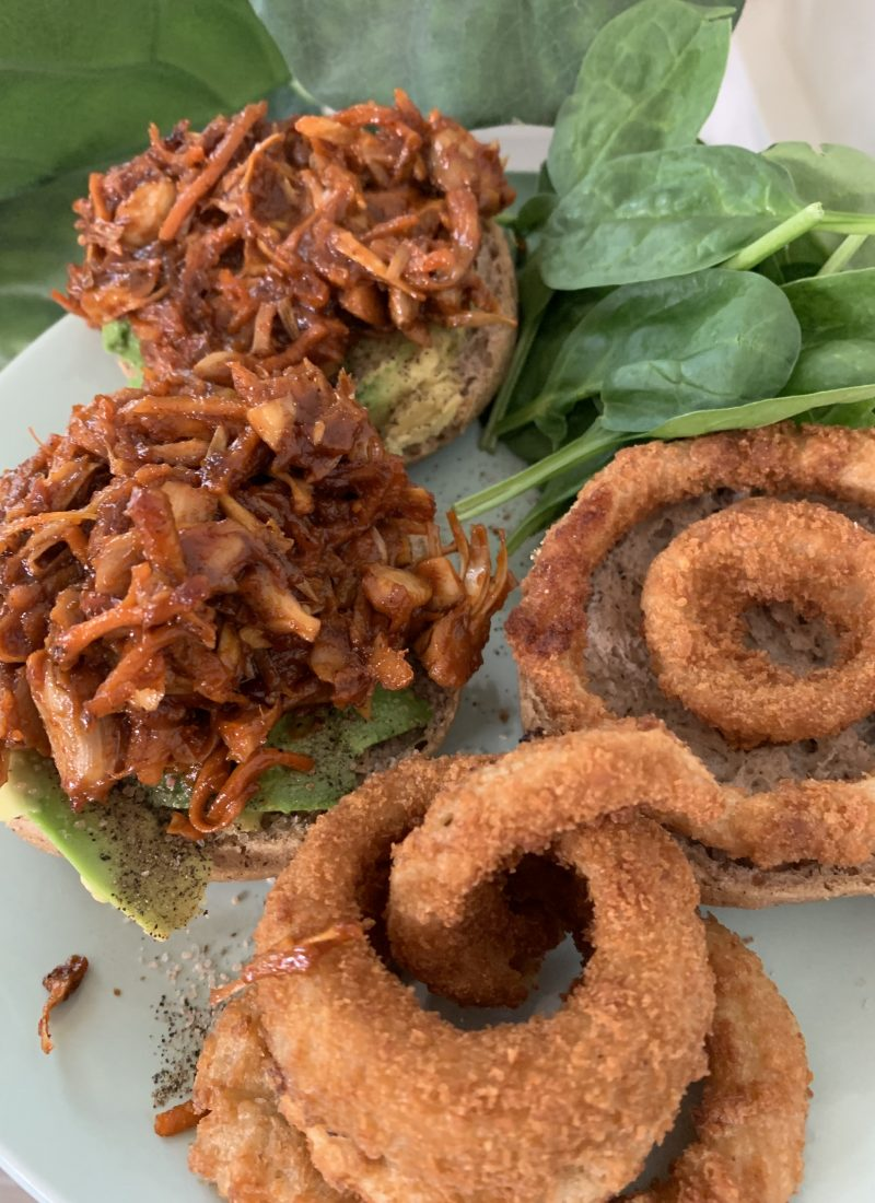 Vegan Pulled Pork Sandwich Recipe