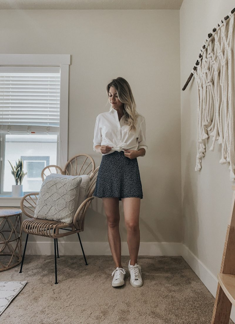 Shop Your Closet | White Sneakers Five Ways for Summer