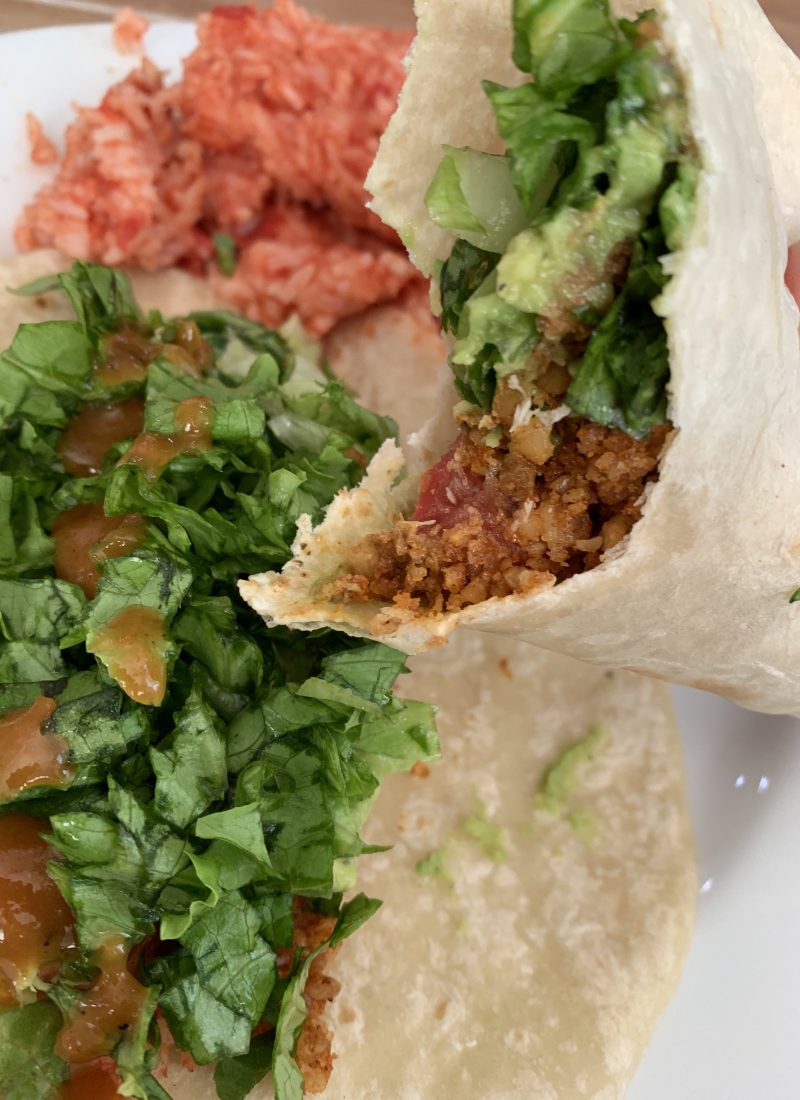 Easy Vegan Walnut Taco Meat Recipe
