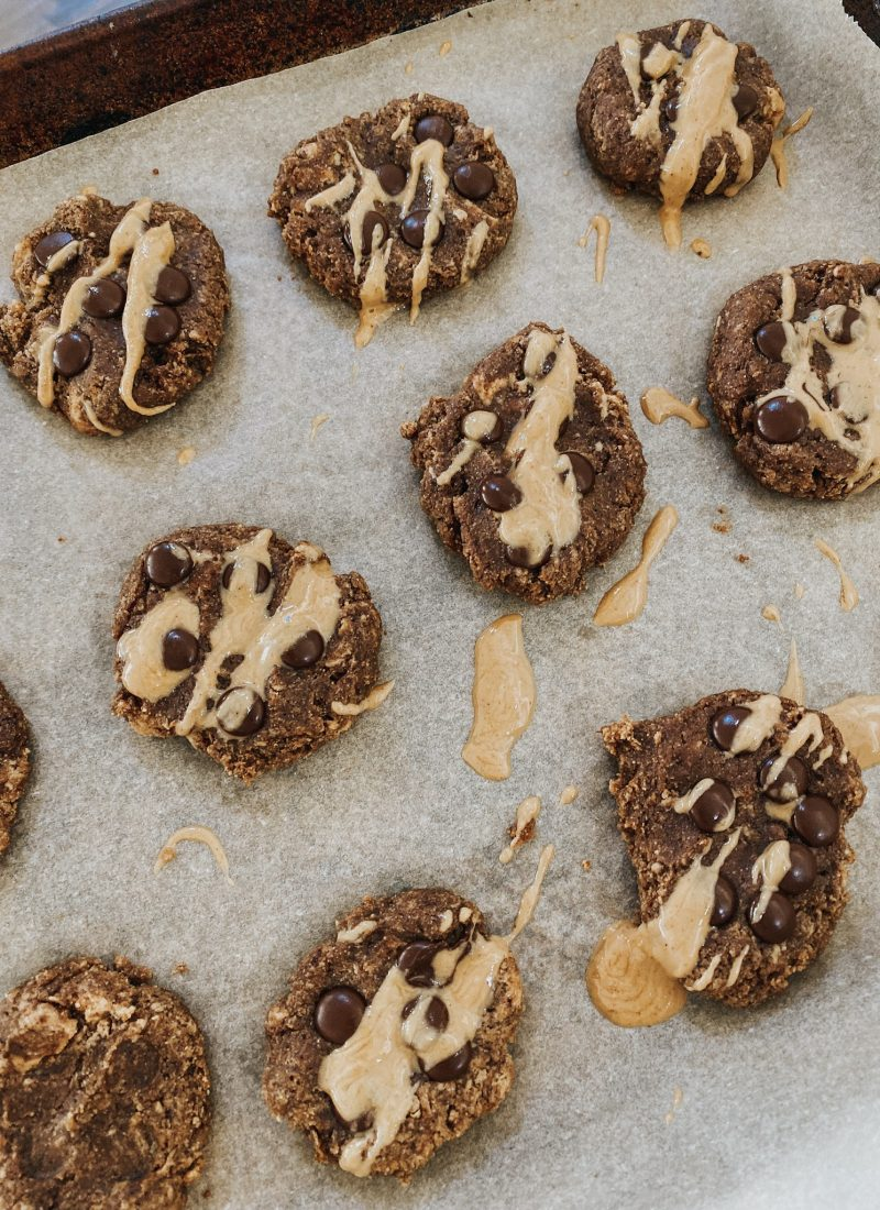 Soft and Chewy Vegan Chocolate Chip Cookies