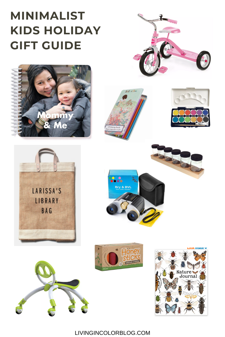 A Minimalist Holiday Gift Guide for Kids