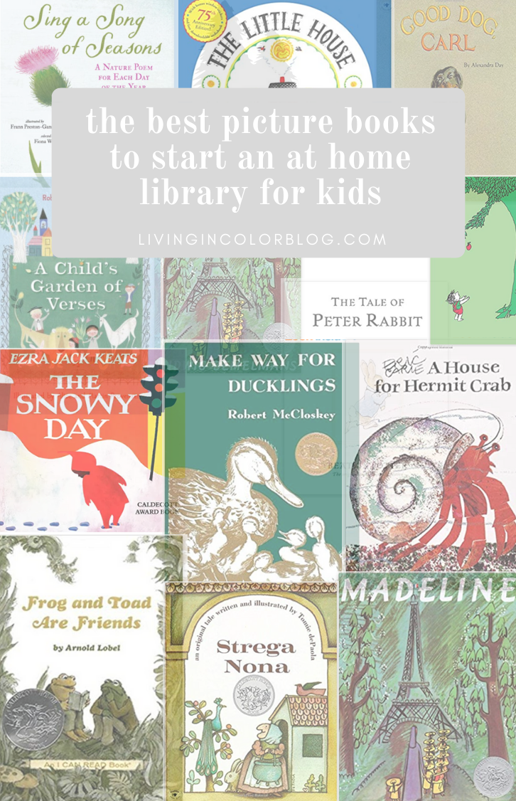 Best Picture Books For Home Library