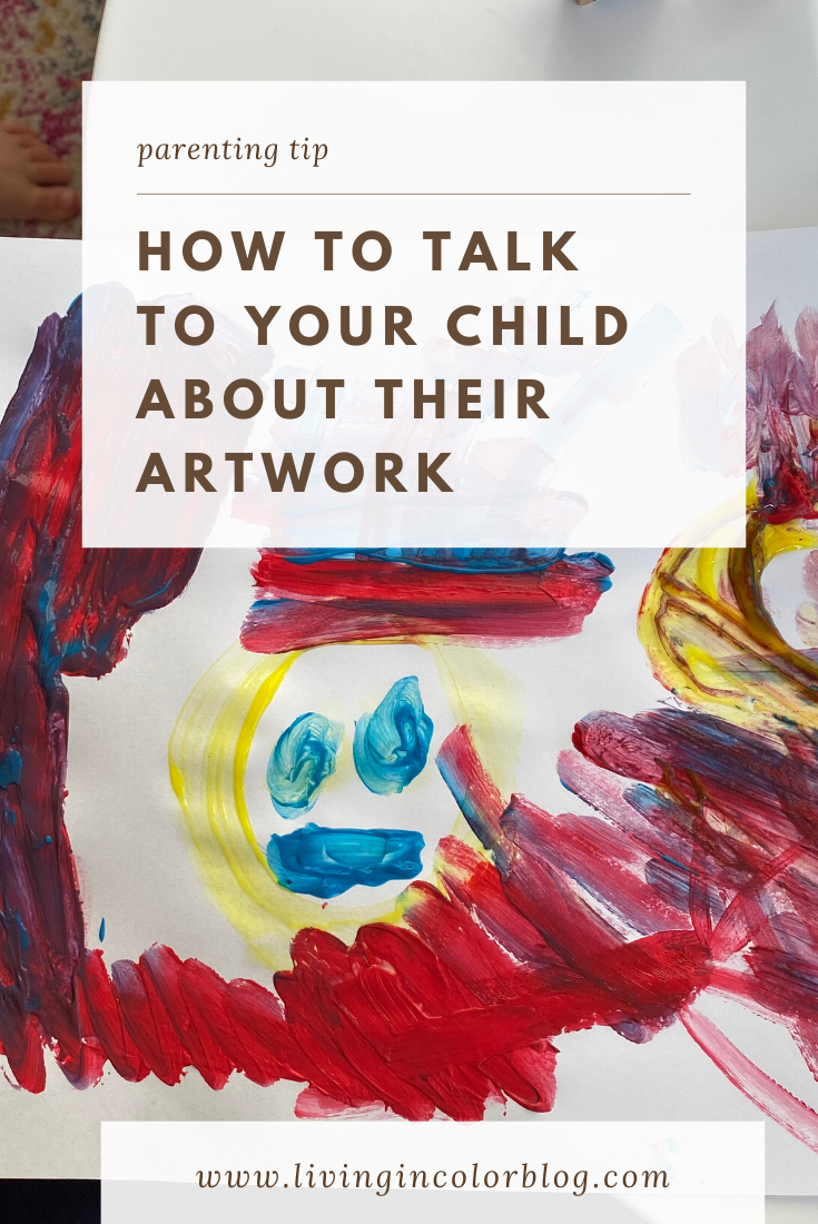 How to Talk to Your Child About Their Artwork
