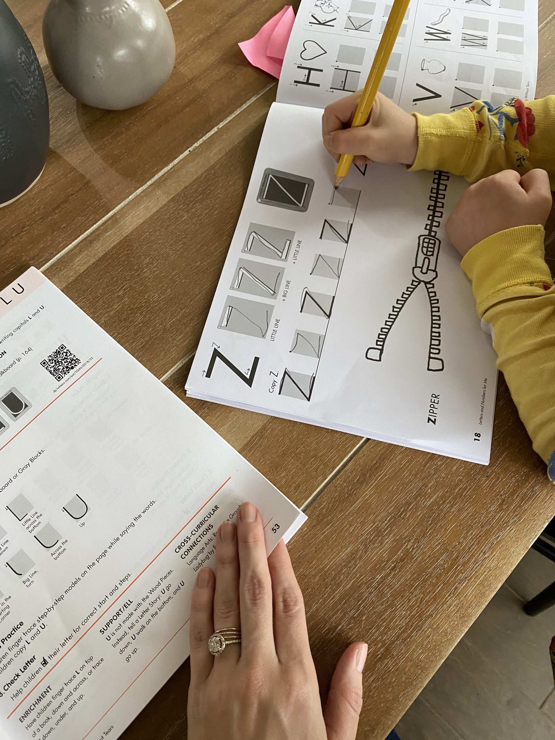 Handwriting Without Tears Curriculum Review