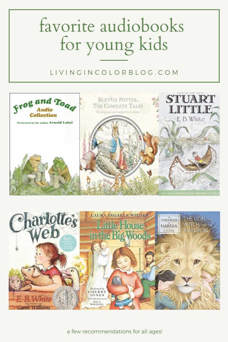 Favorite Audio Books for Young Children