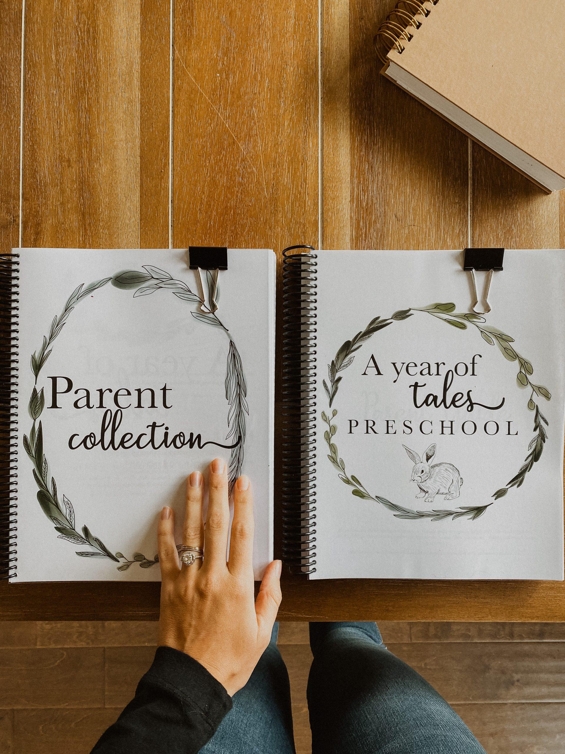 A Year of Tales Homeschool Curriculum Flip-Through