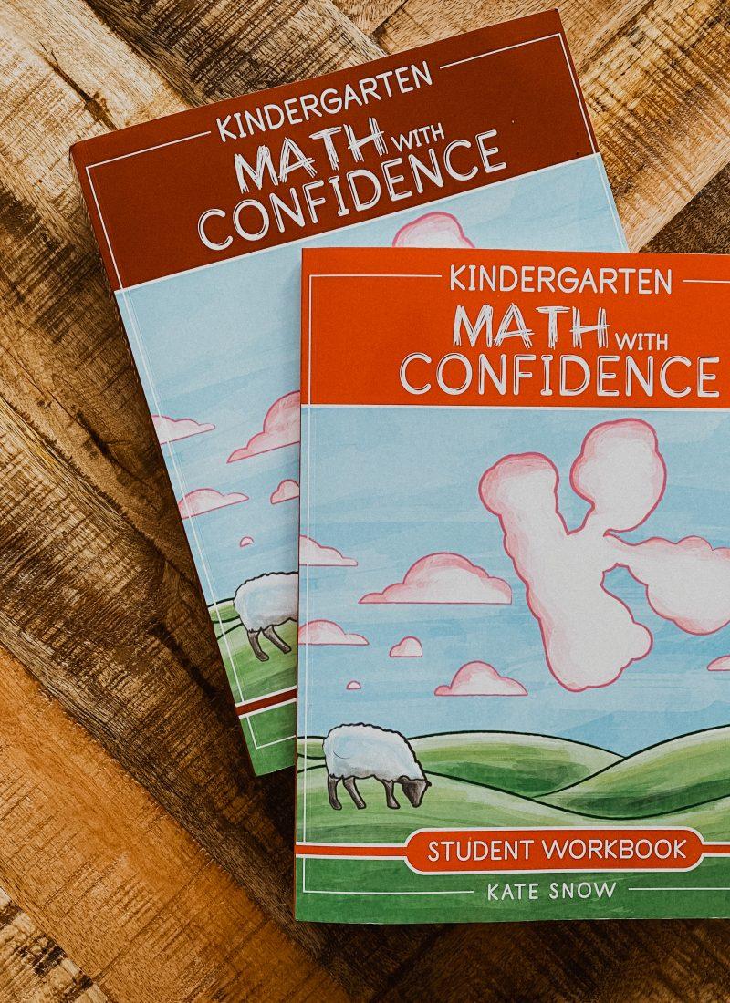 Kindergarten Math With Confidence Curriculum Flip-Through
