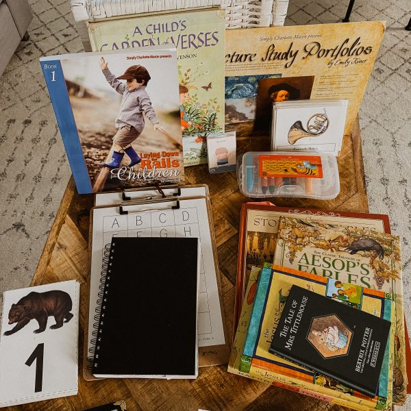 What's in Our Homeschool Morning Basket? (Video)