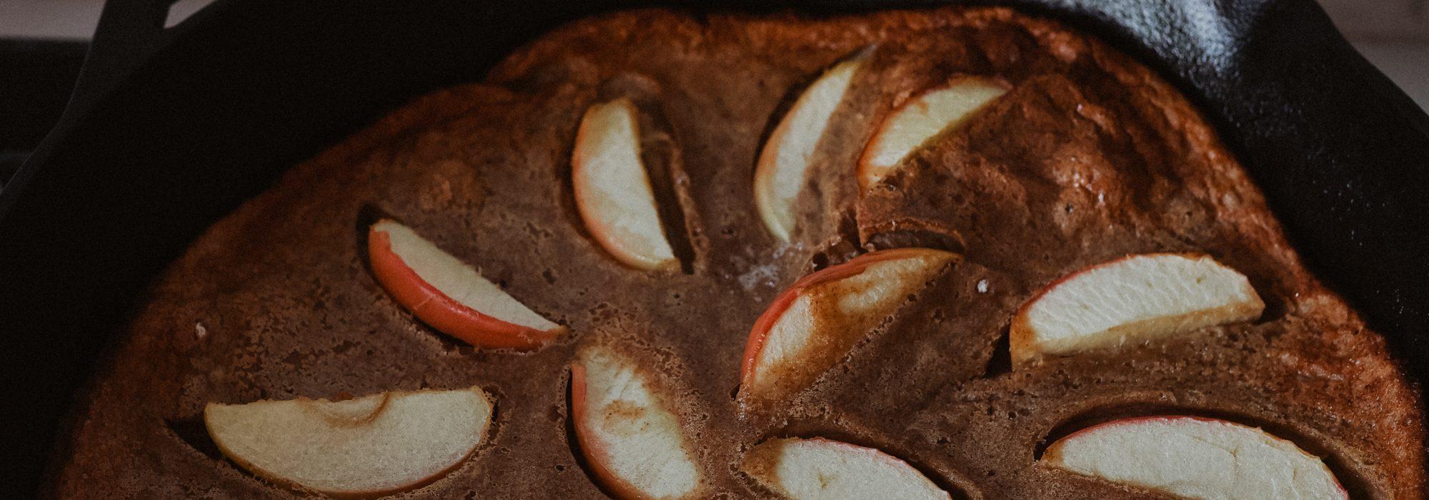 Dutch Baby Pancake Recipe (Refined Sugar Free)
